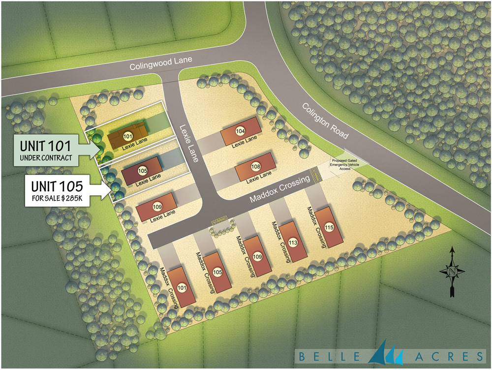Belle Acres new homes for sale KDH, OBX NC